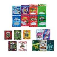 Рюкзак Boyz 3.5g Mylar Bags Lucky Charmz 500 мг Один до 600 мг Запах Видимость Видимость Пустая упаковка Сухая трава цветок Упаковка