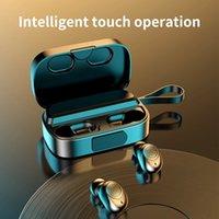 Earbuds TWS 이어폰 K2 블루투스 5.0 헤드셋 3500mAh 미러 충전 상자 내 귀 무선 스포츠 헤드폰