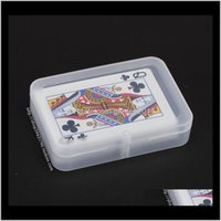 Bins Transparent Playing Cards Plastic Box Pp Storage Boxes Packing Case Width Less Than 6Cm Wen5065 Ogjnf Fw2Pd