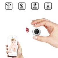 Versão da noite invisível WiFi IP mini câmera sem fio 720p para suporte de gravação de vídeo Controle remoto gravador portátil PK Q7 Câmeras