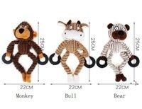 PET PLUSH alivia el aburrimiento de la resistencia de la dentición de la dentición de los juguetes de los juguetes de los juguetes de los dientes de la limpieza de los dientes y el juguete de modelado de animales de absorción de olores BWD6496