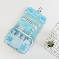 Viajes Portátil Colgante Cosmetic Bag Ladies Lavado Plegable Lavado Organizador Beetician Brush Make Up Packet Bags Casos