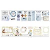Gift Wrap Lychee Life Retro Tapes Vintage Series Washi Tape For Scrapbooking DIY Cards Hand Account Stickers