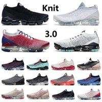 VaporMax Newest Knit 3.0 Pure Platinum chaussures de course pour hommes mode Astronomy Blue USA blanc noir Fury Aurora Snakeskin South Beach formateurs baskets sports de plein air