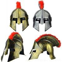 Halloween Removable Fibrous PVC Material Horns Pirates Viking Hats Roman Soldiers Cap Party Costume Props Cap 99