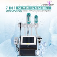 2021 Home Use Cryolipolysis Weight Loss Beauty Machine Fat Freezing 3 360 Degrees Cryo Handle With 8 Size Contours