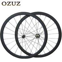 عجلات الدراجة الخامس الفرامل مستقيم سحب 38 ملليمتر الكربون 23 ملليمتر عرض 3K ماتي أو لامعة الفاصلة أنبوبي الصين 700C دراجة powerway r36 hub