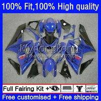 Doux de moulage par injection pour Suzuki GSX-R1000 GSXR1000 K5 2005-2006 BlueFlames Bodywork 26no.28 GSXR 1000 CC 1000CC 05 06 GSXR-1000 2005 Body OEM de moto 2005 2006