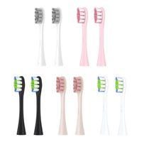 Intelligente elektrische Zahnbürste Haimaitong X Pro One Zi 2pcs Ersatzbürstenköpfe für automatische Sonic Tiefreinigungszahn