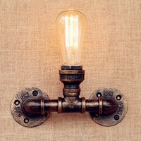Wall Lamps Edison Sconce Water Pipe LED Lights For Home Loft Industrial Lighting Vintage Lamp Stair Light Lampares Apliques