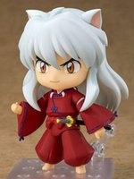 Inuyasha # 1300 PVC Action Figure Modell Spielzeug 100mm Anime Inuyasha Figur Nette Spielzeug Puppe Geschenk X0121