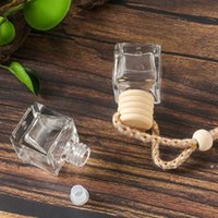 Auto Parfüm Flasche Auto Anhänger Parfüm Ornament Lufterfrischer für ätherische Öle Diffusor Duft Leere Glasflasche One Sea Ship Ewe5918