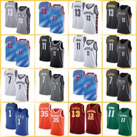 AntetokounMPO 7 Kevin 11 Kyrie Durant 34 Giannis Irving 13 Harden Basketballtrikots Männer City Swingman ne BrooklynIcon ts edition.