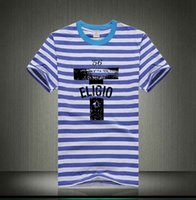 O algodão do vestuário do verão camisetas Mulheres dos homens Stripe preto preto Camisetas Manga curta Slim Fit Fashion Tops Tees Masculino Roupa XXXL