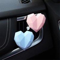 Chunmu Loving Heart Outlet Vent Perfume Clip Car Air Breakening Freshener Интеальные аксессуары для девочек Дети