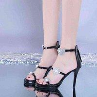 Женские туфли на высоком каблуке элегантный блеск блестящие звезды и сердца партия свадьба WJ011 210610 QXD9K0NN