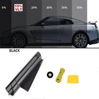 50cm X 3m Car Window Tint Film Glass Sticker Sun Shade Auto Home Summer UV Protector Foils Films Sunshade