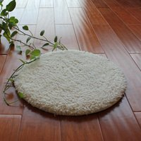 Washable Seat Cushion Simple Silk Wool Round Pet Dog Cat Sleeping Mat Rug Warm And Comfortable Durable JK088 Beds & Furniture