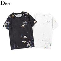 21ss marca t-shirt alta di qualidade e mulheres mesmo direto de algodão puro marca lg lg casual solto redondo pescoço de manga curta