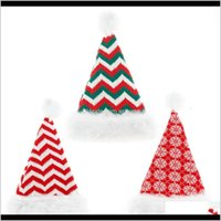 Festive Party Supplies Home & Gardenchristmas Knitted Beanie Santa Hat Christmas Xmas Year Decorations Children Gift W-00437 Drop Delivery 20