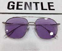 Gentle Woogie Square Ladies Metal Frog Sunglasses Prescription Trend Candy Color Optical Eye Glasses Frame with Original Box8o6v
