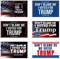 3 * 5ft الأزياء الأزرق الأحمر ترامب العلم الانتخابات إشارات انتخابية راية دونالد تبقي أمريكا عظيم ايفانكا 150 * 90 سنتيمتر HH21-429
