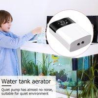 Air Pumps & Accessories Portable Aeration Oxygen Pump AC DC Fish Tank Aquarium Ultra Silent USB Charging Compressor Dual Purpose Supplies
