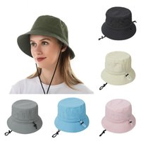 Summer Outdoor Beach Cap Men and Women Sunscreen Basin Caps Cycling Breathable Big Eaves Fisherman's Hats Party Hat T500662