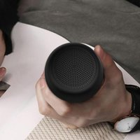 Portable Speakers TWS Super-mini Bluetooth-compatible Speaker Bass Remote Control Small Wireless Boombox Hands-free Mini