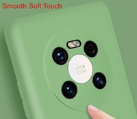 El nuevo estuche de protección para el teléfono móvil Huawei Mate 40 40pro 40pro + serie TPU Soft Liquid Silicon Shell Completo Cobertura Anti-Drop Impermeable Impermeable