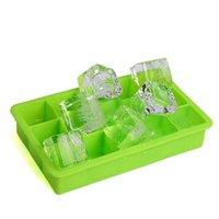 Strumenti per cuccioli di ghiaccio in silicone quadrato a 15 fori CUBI AITIS CUBES MAKER GELLY FACCIARE MULT EASY da rilasciare (4 colori) CCF7379