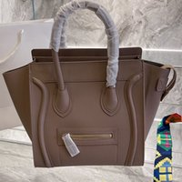 Classic Luxury Ladies Trapeze Tote Borsa Borsa in pelle bollette in pelle bolletta con borse da pipistrello con borse da polso Boston Messenger Shopping Bag
