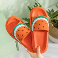 SlippersLovely slippers women and summer lovers indoor skid soft thick soles for household use