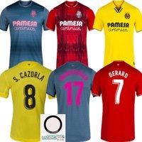2021 2022 Villarreal cf Soccer Jerseys 21 22 Casa Away 3rd Pau Geraro Chukwueze Camicia Paco Alcácer Parejo Moi Gomez Uniform