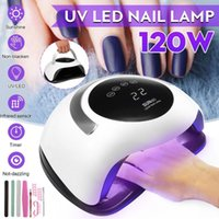 Nail Dryers 120W High Power Dryer Fast Curing Speed Gel Light Lamp LED UV Lamps For All Kinds Of With Timer And Smart Sensor