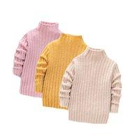 Lawadka الشتاء سميكة الدافئة البلوز محبوك البلوزات الملابس الصلبة ملابس الأطفال الثلوج الفتيات الفتيات ملابس من 1 إلى 8 سنوات