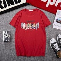 Camisetas para hombres Hombres de verano Tops Funny Japan Style Plus Tamaño Big 6xl 7xl 10xl Hipster Tees Manga corta Navy Azul Música Impresión Cebra