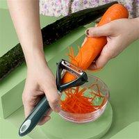 WJHH397 Herramienta de vegetal multifunción de acero inoxidable Rápido Friut Kinner Peeler Julienne Cutter Potato Carrot Graner