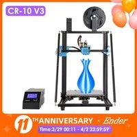CR-10 V3 3D Printer Size 300*300*400mm,TMC2208 Silent Mainboard Resume Printing,E3D Titan Direct Drive Extruder Printers