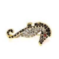 Varole Nouvelle arrivée Cool High Niveau Crystal de luxe Gold Safety Broche Broche Pin Custom