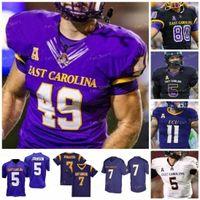 2021 East Carolina Pirates Ecu Football Jersey NCAA College 44 Kendall Futrell 5 Chris Johnson 12 Holton Ahlers 3 Demetrius Mauney