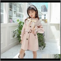 Coat Outwear Baby Baby, & Maternityfashion Button Windbreaker Jacket Children Clothing Girls Coats Winter Trench Wind Dust Outerwear Kids Sch