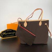 Bolsos de bandolera de embarque bolsa de mujer + bolso pequeño Diseñadores de lujos Bolso con billetera High Quanlity