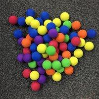 10 قطعة / الوحدة إيفا رغوة الغولف كرات لينة كرات الإسفنج في الهواء الطلق جولف سوينغ ممارسة كرات ل جولف / تدريب التنس الصلبة 7 ألوان 973 z2
