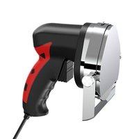 Fleischschleifer 220V / 110V Electric Kebab Slicer Gebrauchter Doner Messer Shawarma Cutter Handheld Rast Schneidemaschine Gyro 100w