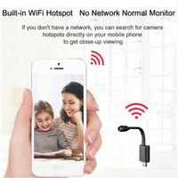 Kameralar Osvr Gözetim Kamerası Wifi USB Mini Ile IP Full HD 1080 P P2P CCTV Bulut Depolama Akıllı AI İnsan Algılama Güç Bankası
