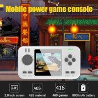 Giocatori portatili da joystick da joystick da 2,8 pollici per PSP MP3 MP4 Game portatile console da gioco incorporato 416 Gioco classico 8000mAh Capacità della batteria