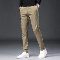 Pantaloni da uomo Pantaloni da uomo Vestiti da uomo Vestiti Pantaloni Abbigliamento Corea Stile Slim Elastico Elastico Vita Elastico Classic Summer Pantalone
