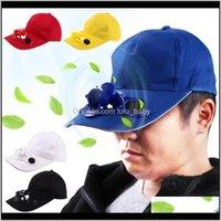 Topu Kapaklar Golf Yaz için Güç Şapka Açık Spor Güneş Güneş Soğutma Fanı Snapbacks Beyzbol Şapkası 0BZPH 35TE2