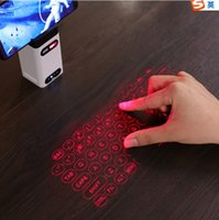 2021 new portable virtual keyboard with mouse for Android IOS smartphone PC   3D projection of Virtual Laser Bluetooth projection keyboard with power pack function